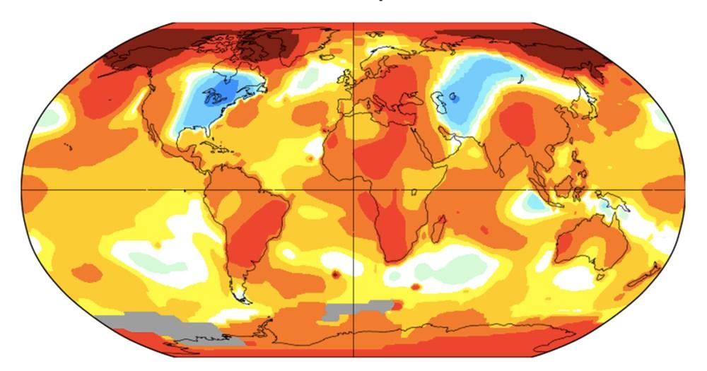Geçtiğimiz 10 yıl tarihin en sıcak 10 yılı oldu